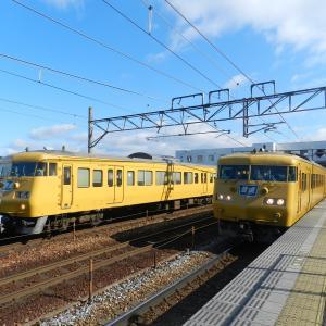 2020年2月18日 国鉄車両を求めて岡山へ ③(岡山電車区周辺で撮影・前編)