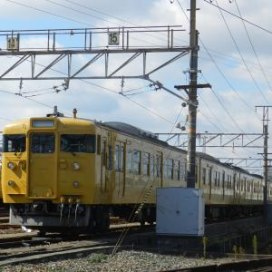 2020年2月18日 国鉄車両を求めて岡山へ ④(岡山電車区周辺で撮影・後編)
