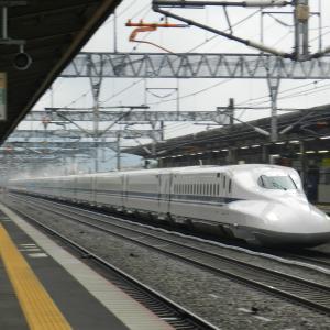 雨の東広島駅 ②