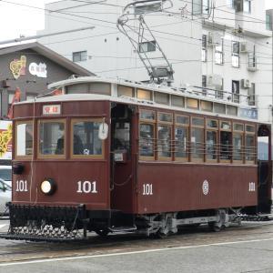 11.23 広電のレア車がたくさん見られた日 ①