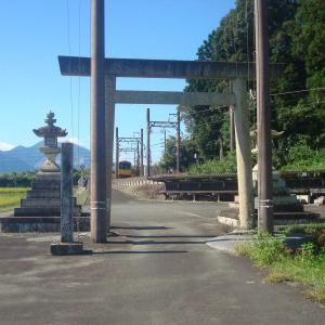 三重県 いなべ市 下笠田 八幡神社 機雷・砲弾が奉納
