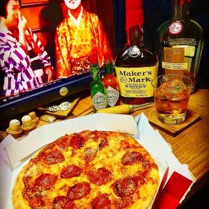 ピザと志村と父の日と