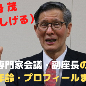 尾身茂(おみしげる)コロナ専門家会議・副座長の学歴・経歴・年齢・プロフィールまとめ!