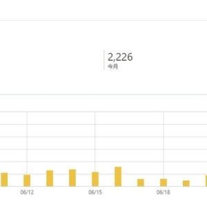 ブログのアクセス数を公開してみる(2020年7月末) 6カ月目はアドセンス審査に合格できない