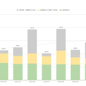 家計簿公開(2021年1月末) 総支出は大幅増加するも、固定費と変動費は安定している。