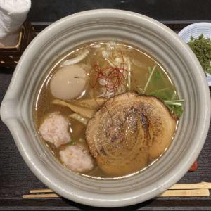 【麺処 銀笹】我輩が認める銀座随一の銘店である銀笹では鯛飯も頼むべし!