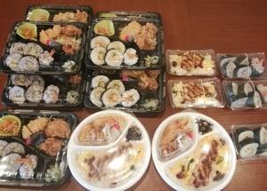 【お弁当 三重県鈴鹿市 とんかつ和とん】寿司メニューもご用意しております。