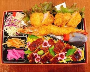 〓うな丼あります。テイクアウトメニュー #鈴鹿 でお弁当 #鈴鹿テイクアウト #和とん