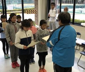 全国小学生テニス長崎予選