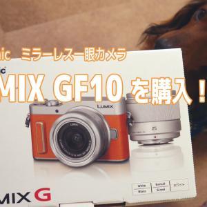 Panasonic ミラーレス一眼 LUMIX GF10を購入しました!【開封レビュー】