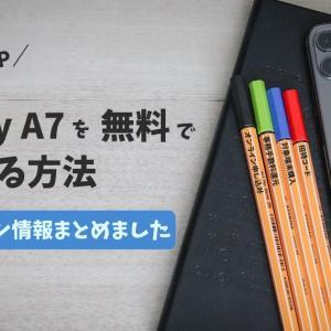 【楽天アンリミット】GALAXY A7を1,300p貰って購入する方法