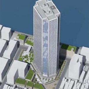 もんじゃストリート北側一部、公園などを含む月島3丁目北地区に2027年に58階建てのタワーマンションが建設されるようです