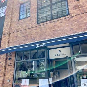 SHIPSとMINIのコラボの英国風カフェ「シップス リトル カーズ カフェ」でランチ