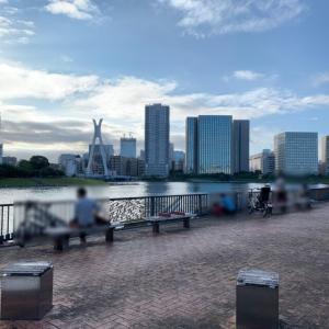 月島駅から相生橋を渡ってすぐ!子供の自転車レンタルもある「越中島公園」をお散歩