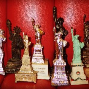 ビンテージ★自由の女神★像★置物★インテリア雑貨★ニューヨーク フリーメイソン スーベニア