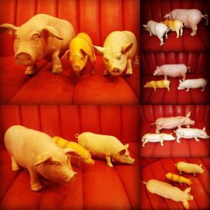 ビンテージ★豚★フィギュア★動物★USA★置物★人形★オブジェ★アニマル★インテリア★雑貨