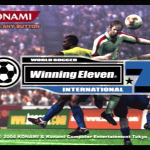 PS2『ワールドサッカー ウイニングイレブン7 インターナショナル』ことウイイレ7をプレイしてみた感想