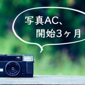 【ストックフォト】写真AC、開始3ヶ月の記録