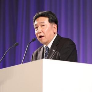 【政治】立民・枝野代表「首相に就任した場合、消費増税はないし、上げる検討もしない」