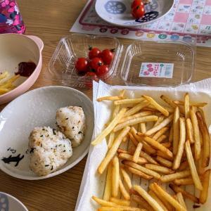 外食自粛の一日メニュー