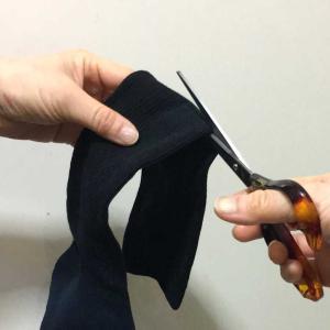 履き口ぐったり靴下