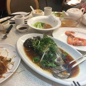 香港の海鮮レストラン