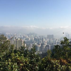 香港人の霊峰ライオンロック 獅子山