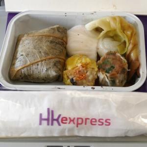 香港エクスプレス航空の機内食について