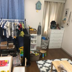 息子の部屋とリビング
