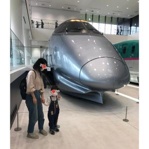 はじめての鉄道博物館!