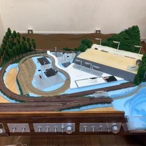 第三次鉄道模型レイアウト製作記・10 シーナリィ 山・林