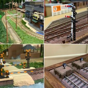 第3次鉄道模型レイアウト・19 アクセサリー② 鉄道関連