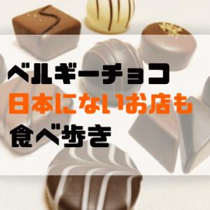 【ベルギー旅行記】日本にないベルギーチョコを食べ歩き。お土産にもおすすめの人気ショップ。定番以外も行ってみた