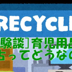 [生後9か月]リサイクルショップをめぐってみた話[育児用品]
