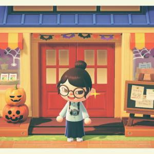 [あつ森:53]秋のアップデート!ハロウィンの準備はじめました。