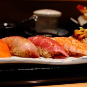 お寿司なら食べられる。