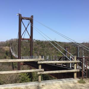 ドライブと吊り橋(星のブランコ)