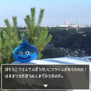 細江公園展望台にスライムがあらわれた!