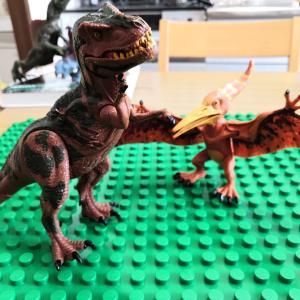 恐竜のおもちゃ達を比べてみた