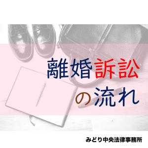 【訴訟提起から】離婚訴訟の流れ【離婚まで】
