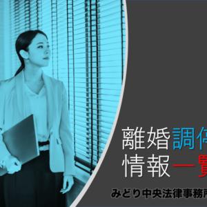 【まとめ】離婚調停についての情報一覧