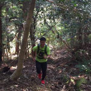 Mt. Rokko vertical Trail running (Training).