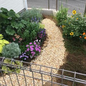 庭整備⑤~庭に砂利道をつくる!