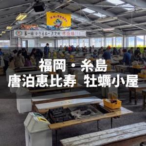 【2020年】福岡・糸島の牡蠣小屋に行ってきました|唐泊恵比寿 牡蠣小屋