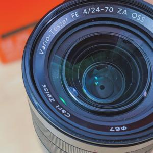 酷評ばかりの【Vario-Tessar T* FE 24-70mm F4 ZA OSS】を売却して買い替えた Sony α7IIIの万能標準ズームレンズ【SEL2470Z】