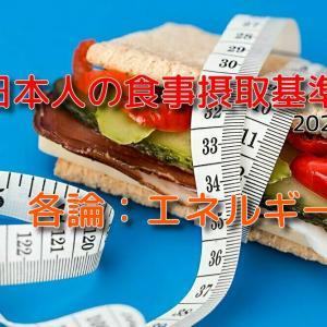 日本人の食事摂取基準2020年版【エネルギーについて徹底解説】