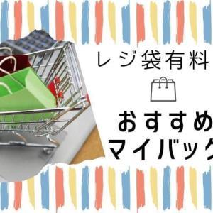 【レジ袋有料化】大容量や便利なおすすめマイバッグをご紹介!