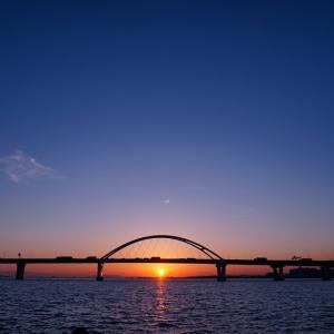 大阪湾の夕日どうでしょう