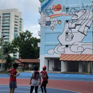 【美ジョ活】HDB壁画アートウォーク@Hougang