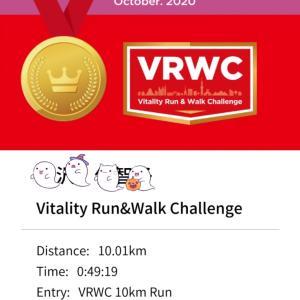 Vitality Run Challenge 10km全力で走ったら